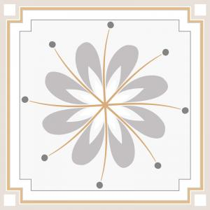 Papel De Parede Adesivo Lavável Azulejo Pastel E Vinil Adesivo Fosco 47x260cm 4x0  Nenhum