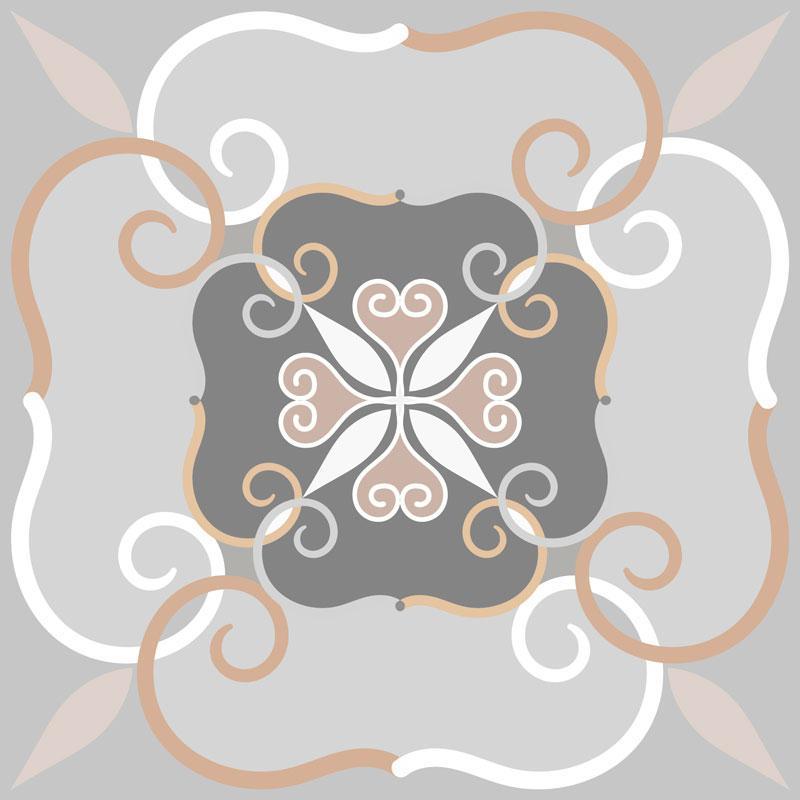 Papel De Parede Adesivo Lavável Azulejo Pastel D