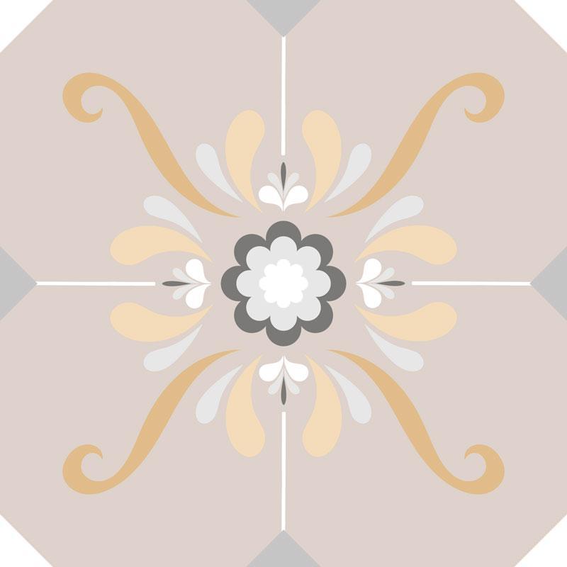 Papel De Parede Adesivo Lavável Azulejo Pastel F